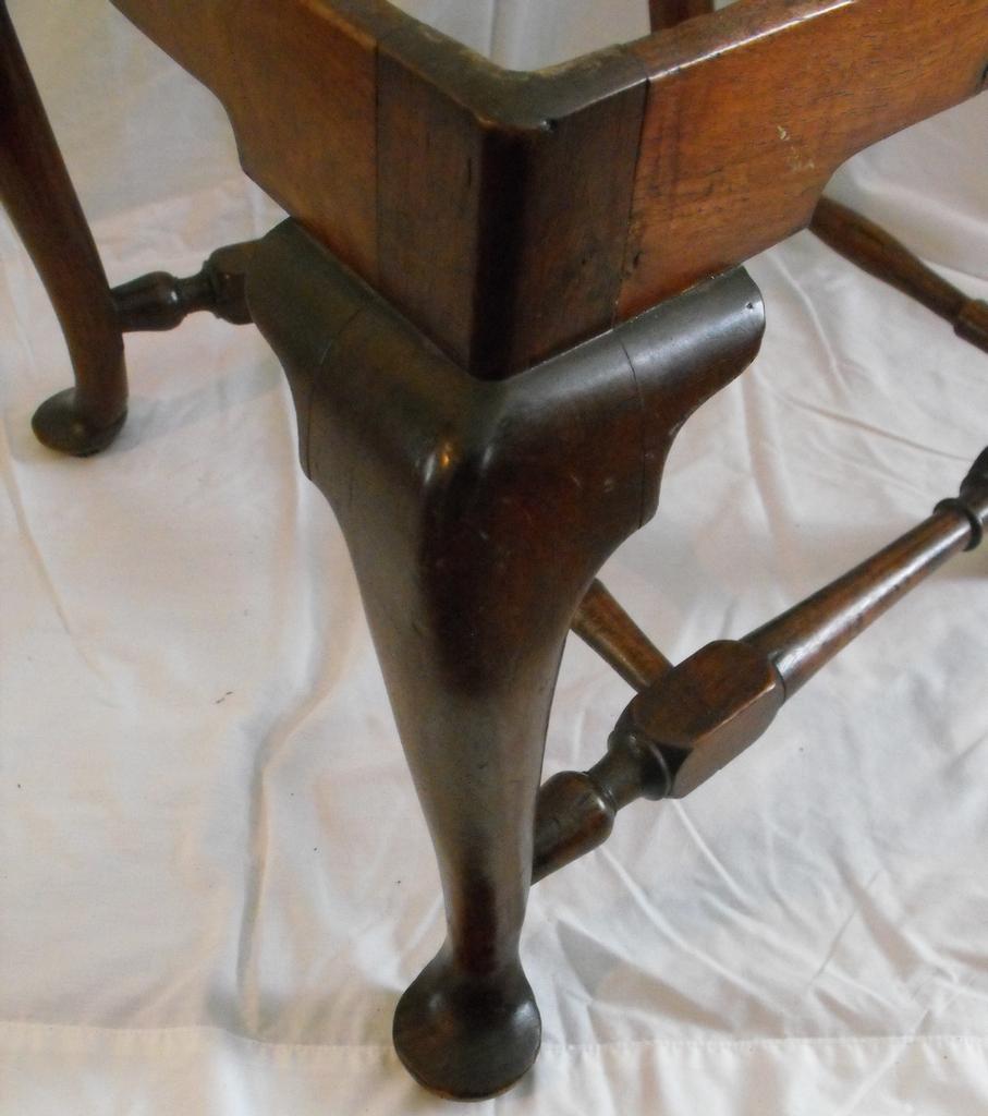 Virginia Turned Chair Machusetts Queen Anne Side Boston Circa 1740 1760